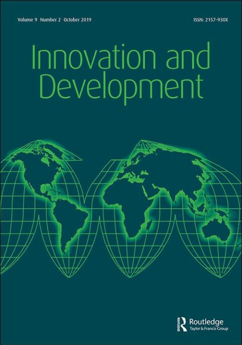 "New paper ""Innovation in development cooperation: emerging trajectories and implications for inclusive sustainable development in the 21st century"", by Ana Luísa Silva (Aug. 2020)"