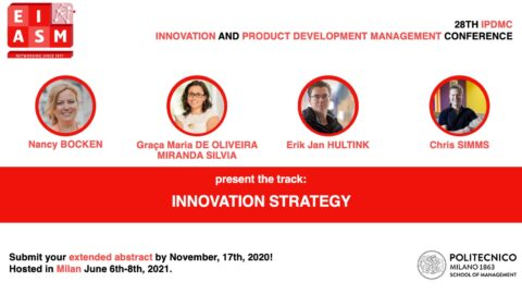 "28th Innovation and Product Development Management Conference | Painel ""Innovation Strategy"""