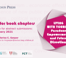 """Call for Book Chapters: """"Living with Tourism: Paradoxes, Empowerment and Future Directions"""""""