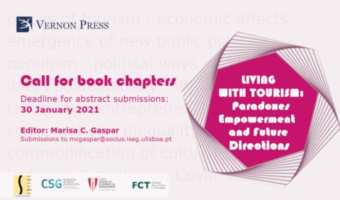 "Call for Book Chapters: ""Living with Tourism: Paradoxes, Empowerment and Future Directions"""