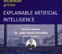"Webinar ""Explainable Artificial Intelligence"""
