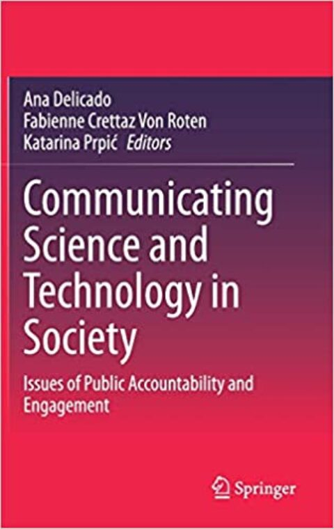 "Novo capítulo de livro ""Technologies of Participation in Water Plans in Portugal: What Kind of Science–Society Relationship Are We Talking About?"""