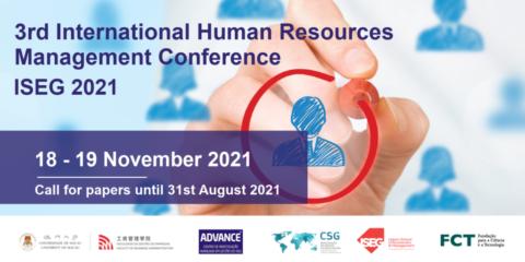 3ª Edição da Conferência Internacional de Gestão de Recursos Humanos