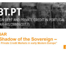 """Webinar """"The Shadow of the Sovereign – Public and Private Credit Markets in early Modern Europe"""""""