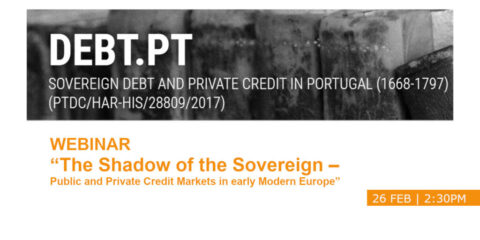 "Webinar ""The Shadow of the Sovereign – Public and Private Credit Markets in early Modern Europe"""