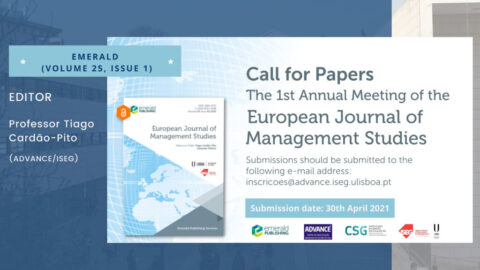 "Call for papers | ""The 1st Annual Meeting of the European Journal of Management Studies"""