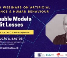 Research Webinars on Artificial Intelligence & Human Behaviour: Explainable Models of Credit Losses