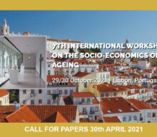 7th International Workshop on the Socio-Economics of Ageing – Call for papers