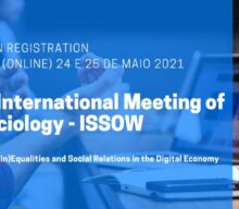 24-25 May 2021 | IV International Meeting of Sociology – ISSOW
