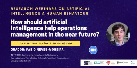 Research Webinars on Artificial Intelligence & Human Behaviour: How should artificial intelligence help operations management in the near future?