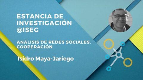 Estancia de Investigación Professor Isidro Maya-Jariego