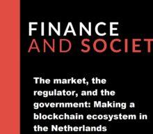 """Novo artigo """"The market, the regulator, and the government: Making a blockchain ecosystem in the Netherlands"""", de autoria de Inês Faria"""